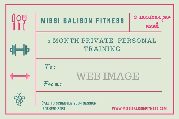 personal training sandpoint