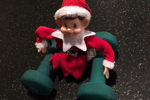Elf on the Shelf fitness